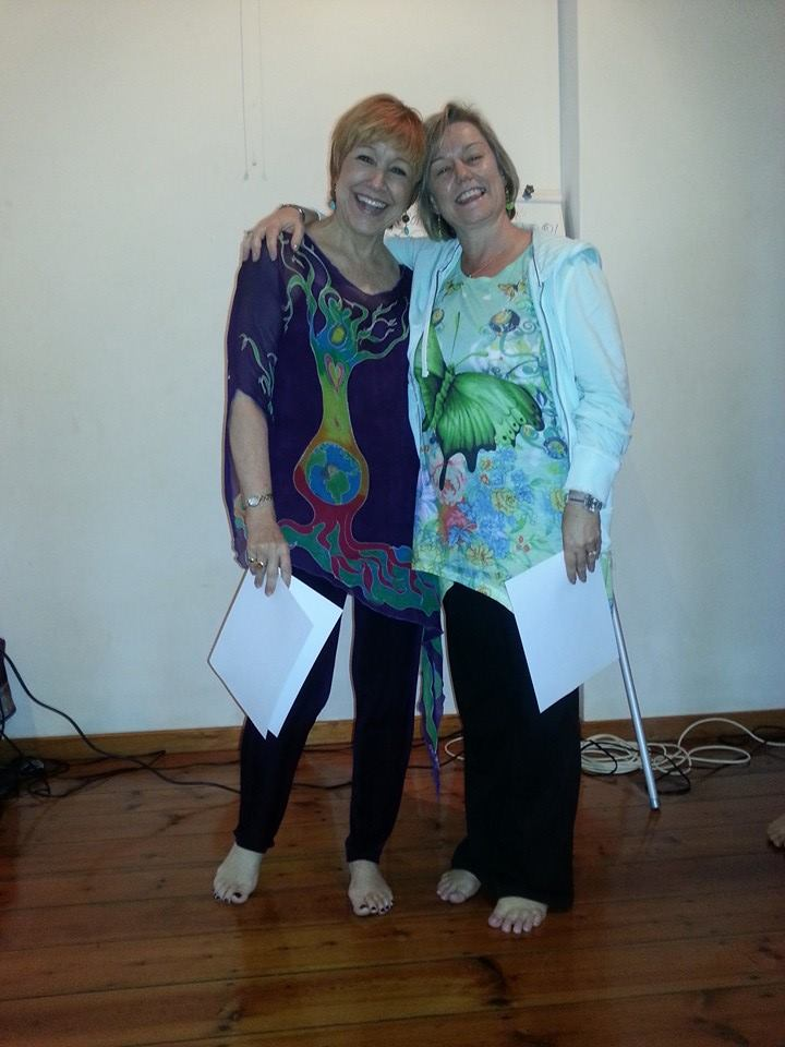 Denise and Fiona, Durban 2013.