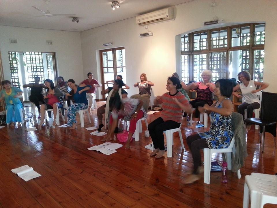 Educator training with Denise