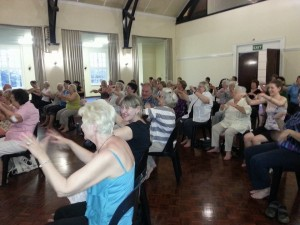 Ageless Grace class with Denise